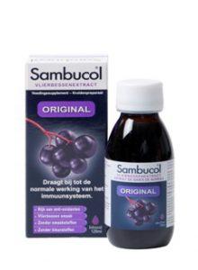 Sambucol Original als ondersteuning van je weerstand en je immuunsysteem