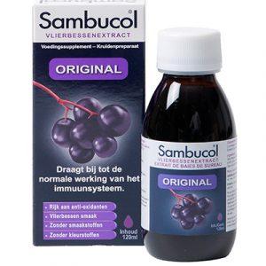 Sambucol Original 120ml ondersteunt je weerstand