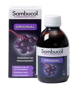Sambucol Original 230ml ondersteunt je weerstand
