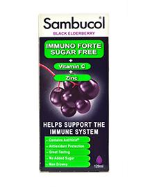 Sambucol Suikervrij met vitamine C en zink ondersteunt je weerstand