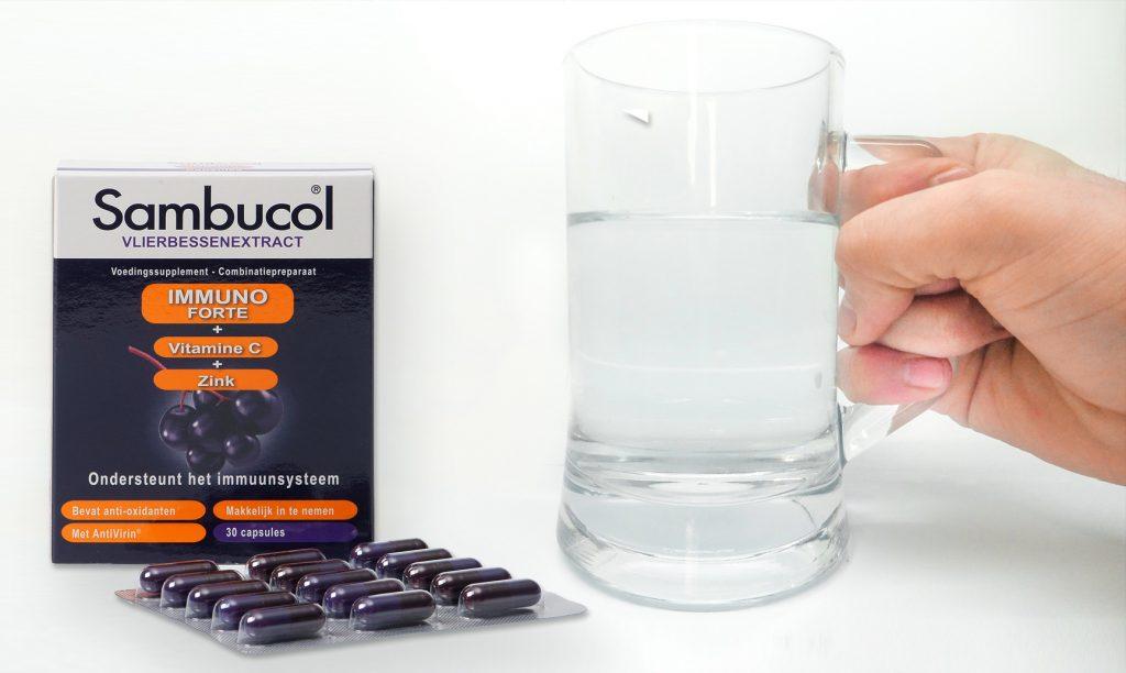 Sambucol® Immuno Forte Capsules als ondersteuning van je weerstand en je immuunsysteem