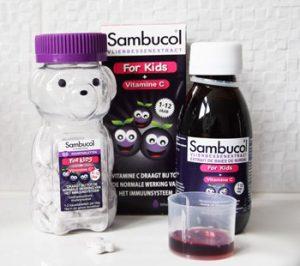 Ondersteun de weerstand van je kind met Sambucol for Kids