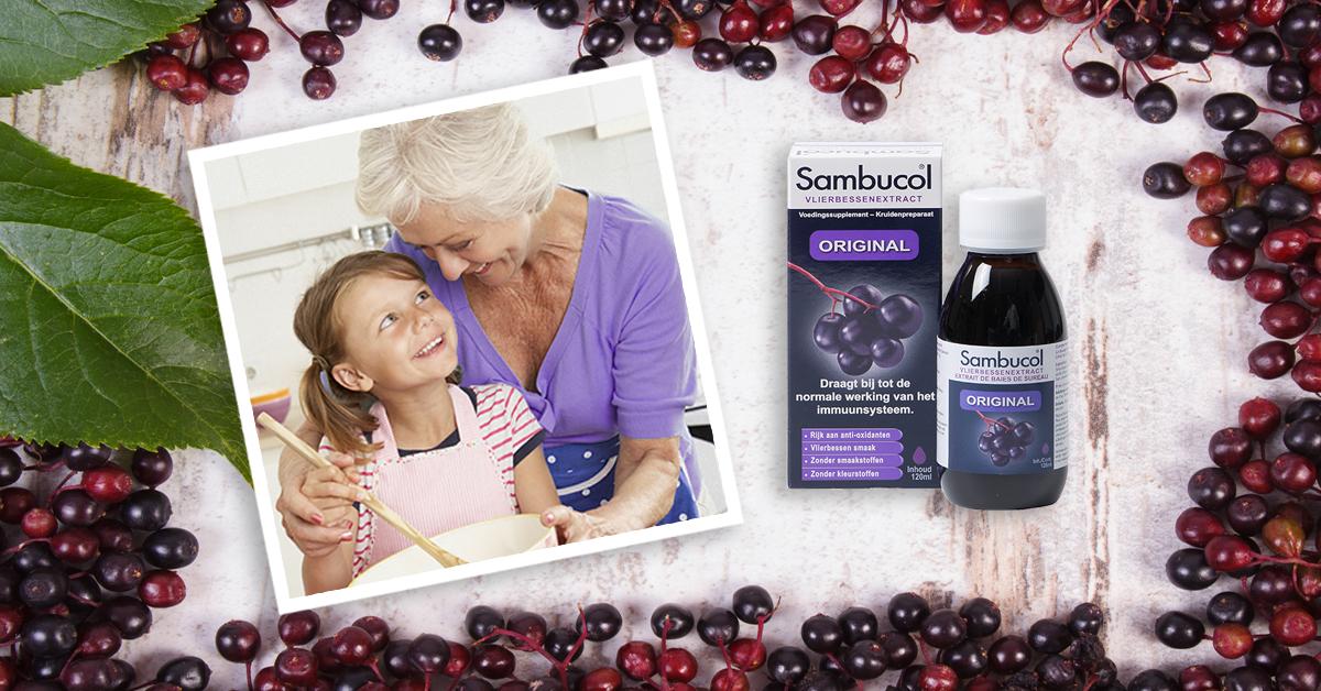 Sambucol met vlierbessen ondersteunen je weerstand
