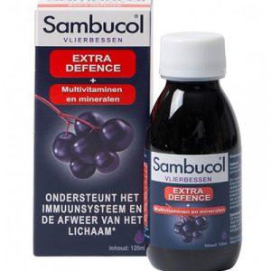 Sambucol Extra Defence als ondersteuning van je weerstand en je immuunsysteem