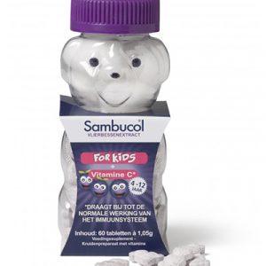 Sambucol Kids Kauwtabletten als ondersteuning van de weerstand en immuunsysteem van je kinderen
