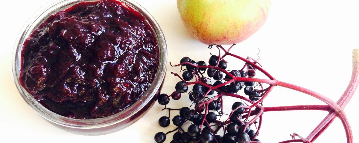 Jam van appel en vlierbessen - Sambucol ondersteunt je weerstand